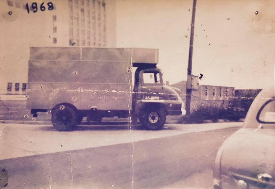 Paul's First Van