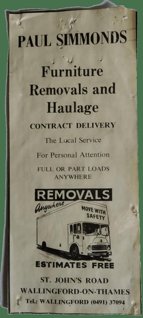 Old Advertisement